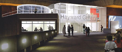South Bank Centre - towards the Hayward Gallery Foyer Extension to improve both access and education work