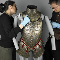 Wallace Collection - towards the first phase of the re-interpretation of the arms and armour collection