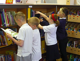 Kenton Bar Primary School - towards the development of library facilities to support out of school hours learning